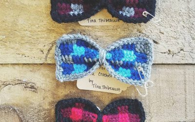 Hand-Crocheted Bow Ties!